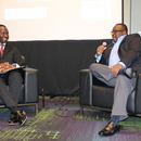"The technical session titled ""One on One with Gary McCoy,"" provided an opportunity for him to tell his story of how he advanced from a Janitor with the City of Cartersville to the MWA Director of Water."